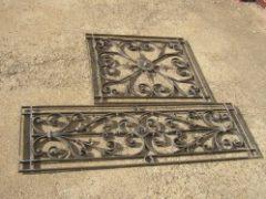 ornamentální mříže